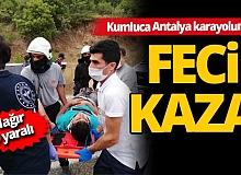 Antalya'da trafik kazası: 1'i ağır 9 yaralı