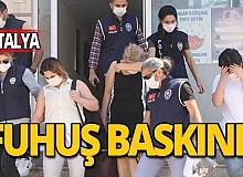 Antalya'da zorla fuhuş yaptırılan biri 17 yaşında 5 kadın kurtarıldı