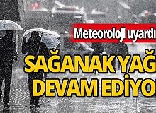 Antalyalılar dikkat: Sağanak yağış devam ediyor!