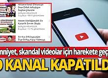 Çocuk istismarını öven YouTube kanalları kapatıldı