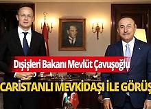 Dışişleri Bakanı Mevlüt Çavuşoğlu, Macar mevkiidaşı PeterSzijjarto ile görüştü