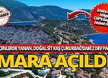 İmara açılan bölgede CHP'li Baykal'ın hissesi de var