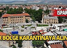 İslamköy'de bir bölge karantinaya alındı