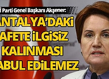 İYİ Parti Genel Başkanı Akşener'den 'tarıma' yönelik çağrı