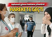 Kepez Devlet Hastanesi korona standı açıldı