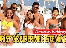 Koronavirüsü bahane eden Almanlar, Türkiye'ye turist göndermek istemiyor