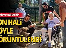 Mehmet Ali Erbil'in son hali böyle görüntülendi