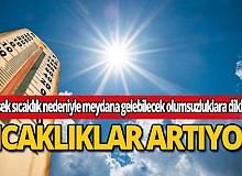 Meteoroloji'den Antalya için uyarı: Yüksek sıcaklığa dikkat!
