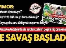 MY Gazete Antalya'da da satılan zehrin peşini hiç bırakmadı