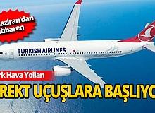 THY Avrupa'da 16 şehirden direkt uçuşlara başlıyor