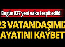 Türkiye'de son 24 saatte 23 kişi hayatını kaybetti