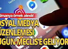 """AK Parti'nin 11 maddelik """"sosyal medya"""" teklifi bugün Meclis'e sunulacak"""