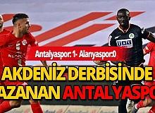 Akdeniz derbisinde gülen Antalyaspor!