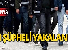 Alanya'da aranan 11 şüpheli yakalandı