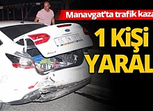 Alkollü sürücü kazası: 1 yaralı