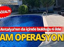 """Ankara'da """"Dam"""" operasyonu: 11 gözaltı"""