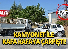 Antalya'da feci trafik kazası: 4 yaralı