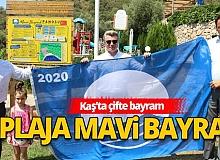 Antalya Haber: Kaş'ta 2 plaja Mavi Bayrak
