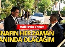 Antalya Haber: Vali Ersin Yazıcı AESOB yönetim kurulu ile bir araya geldi