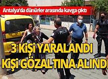 Antalya Son Dakika Haberi:  Eşi gözaltına alınan kadın, polislere zor anlar yaşattı