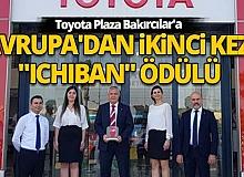 """Antalya Toyota Plaza Bakırcılar'a Avrupa'dan ikinci kez """"Ichiban"""" ödülü"""