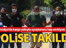 Antalya'da kargo yoluyla uyuşturucu sevkıyatı