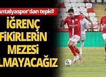 Antalyaspor'dan Selahattin Kınalı'nın açıklamasına tepki!