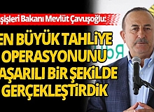 """Bakan Çavuşoğlu: """"130 ülkeden 90 binden fazla vatandaşımızı ülkemize getirdik"""""""