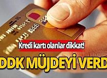BDDK'dan vatandaşa çifte kredi kartı müjdesi!