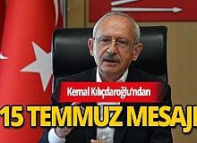 CHP Genel Başkanı Kılıçdaroğlu: Demokrasi uğruna can veren 251 şehidimizi asla unutmayacağımız