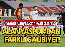 Galatasaray, Aytemiz Alanyaspor'a 4-1 mağlup oldu