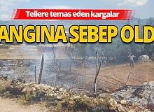 Korkuteli'nde korkutan yangın