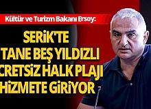 Kültür ve Turizm Bakanı Ersoy'dan müjde!