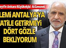 Kuveyt'in Ankara Büyükelçisi Türkiye'nin turizmdeki Kovid-19 önlemlerini değerlendirdi