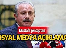 Meclis Başkanı Mustafa Şentop'tan sosyal medya açıklaması