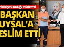 Muratapaşa Belediyesi temizlik işçileri müchever buldu