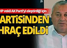 Ordu Milletvekili Cemal Enginyurt, MHP'den ihraç edildi