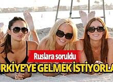 Rus turistler, yaz tatilini Türkiye'de geçirmek istiyor