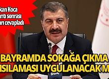 Sağlık Bakanı Koca: Kovid-19 salgınında Anadolu'da birinci dalga halen devam ediyor