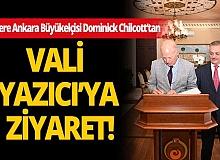 Son dakika Antalya haberi: Büyükelçi Chilcott'tan Vali Yazıcı'ya ziyaret
