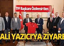TFF Başkanı Nihat Özdemir Antalya'da ziyaretlerde bulundu