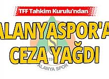 TFF Tahkim Kurulu Alanyaspor'un itirazını reddetti