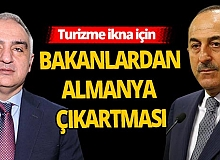Türk Heyeti Almanya yolcusu