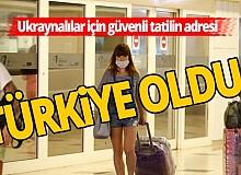 Ukraynalı turistlerin tercihi  Antalya'da!