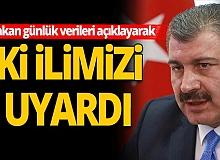 Türkiye'de 24 saatte koronavirüs kaynaklı 14 can kaybı yaşandı