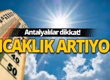 29 Ağustos Antalya'da hava durumu