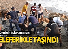 2 gün önce denizde kaybolan kadının cansız bedeni bulundu!