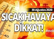 30 Ağustos Antalya'da hava durumu
