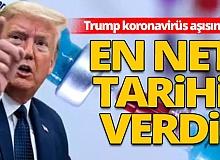 ABD Başkanı Trump, koronavirüs aşısı için en net tarihi verdi