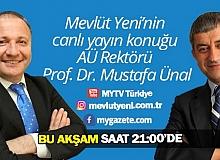 A.Ü. Rektörü Prof. Dr. Mustafa Ünal öğrencilerin üniversiteye dair tüm sorularını rektörlük ataması öncesi Mevlüt Yeni ile YENİ BAKIŞ programında değerlendiriyor